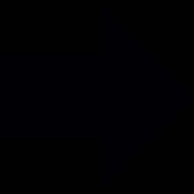 Right dark arrow vector logo