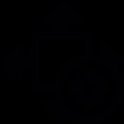 Size settings vector logo