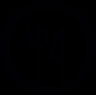 Restaurant symbol vector logo