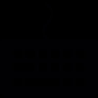 Small keyboard vector logo