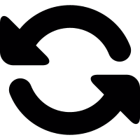 Curved Arrows vector
