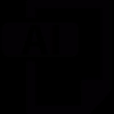 Extension .ai vector logo