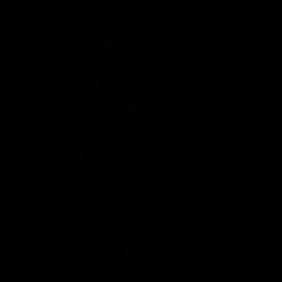 Bank Pin vector logo