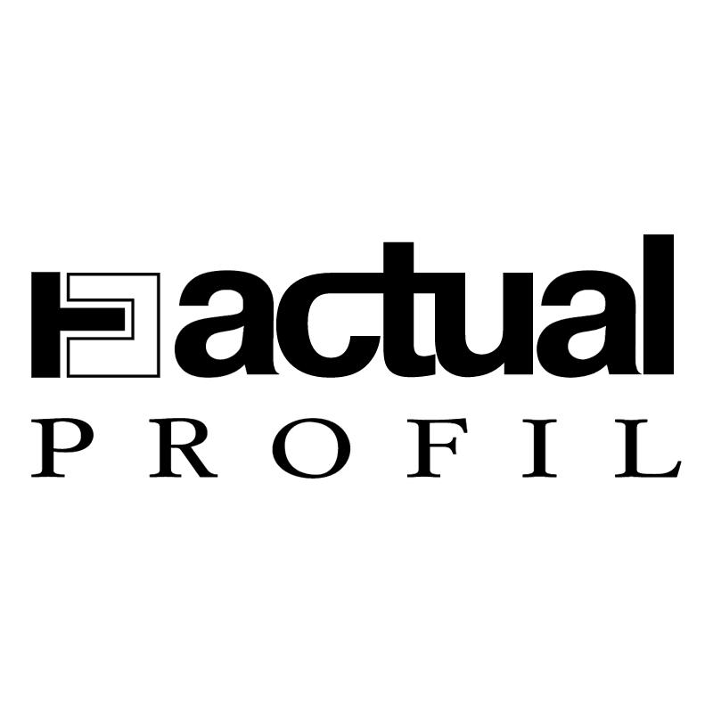 Actual Profil vector
