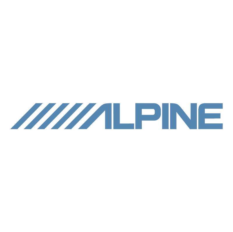 Alpine 81004 vector logo
