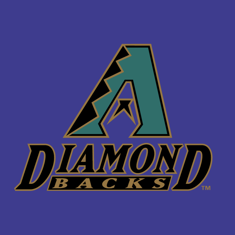 Arizona Diamond Backs 73333 vector