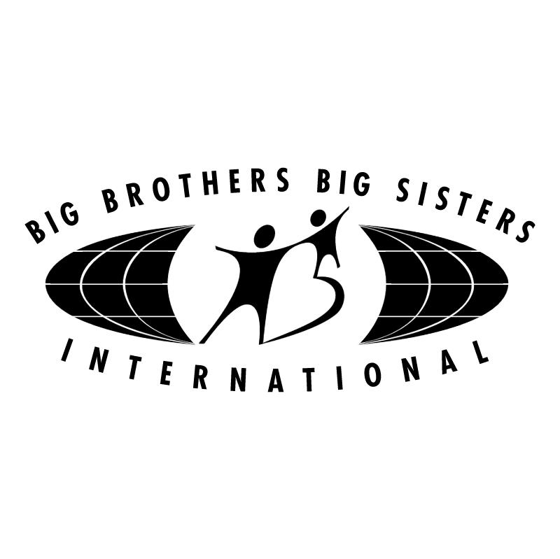 Big Brothers Big Sisters International vector