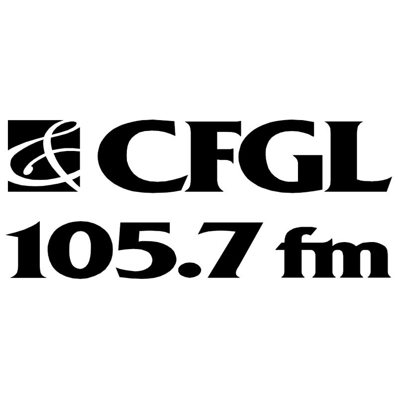 CFGL Radio vector