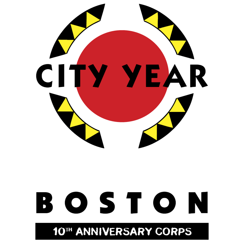 City Year Boston vector