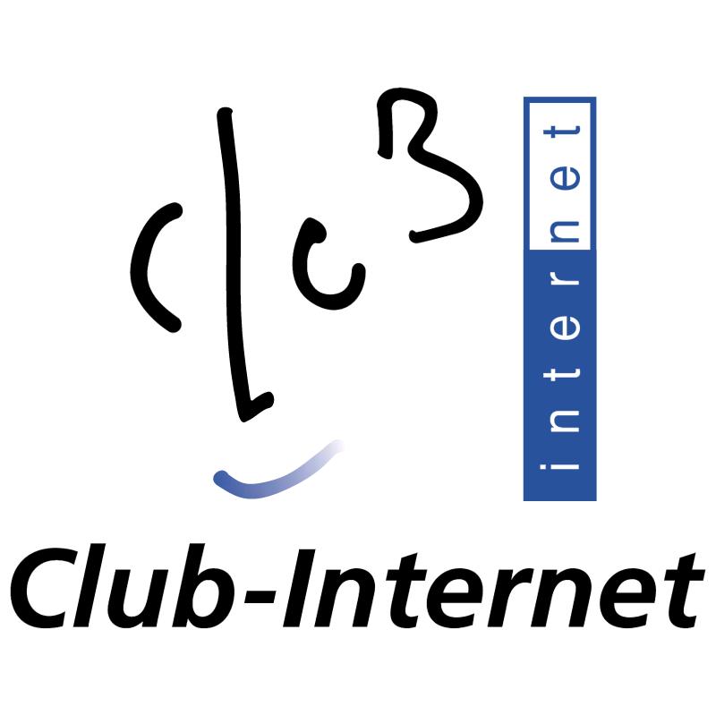 Club Internet vector logo