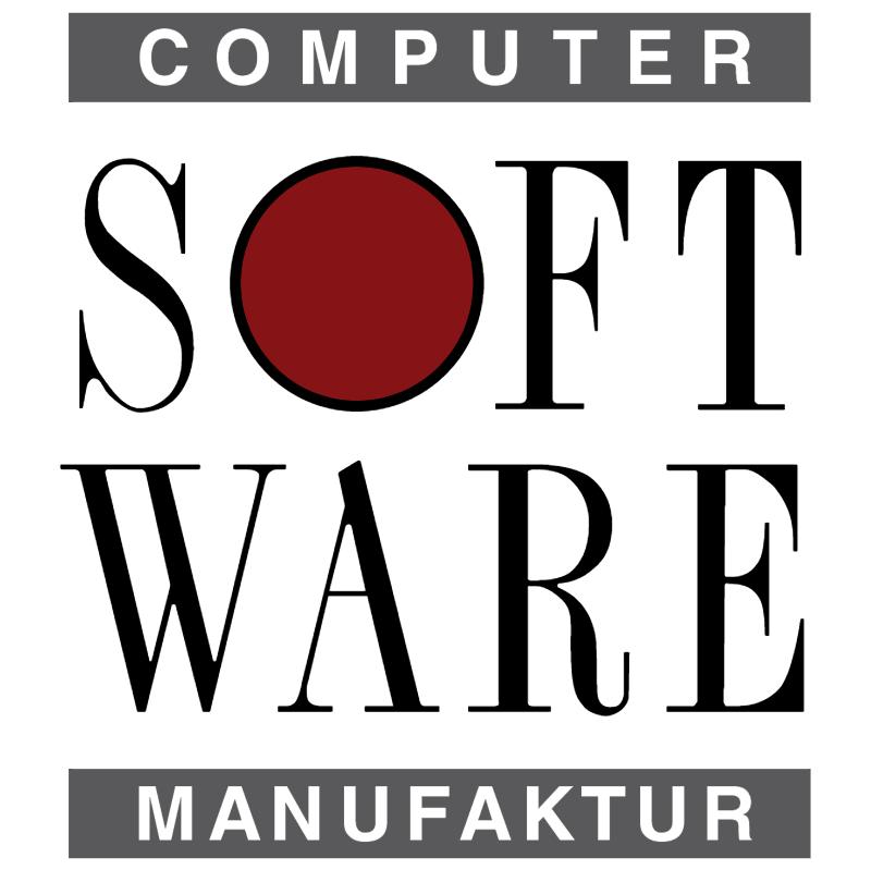 Computer Software Manufaktur vector