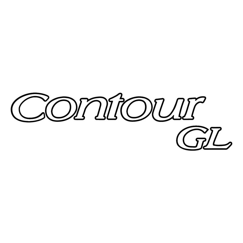 Contour GL vector logo