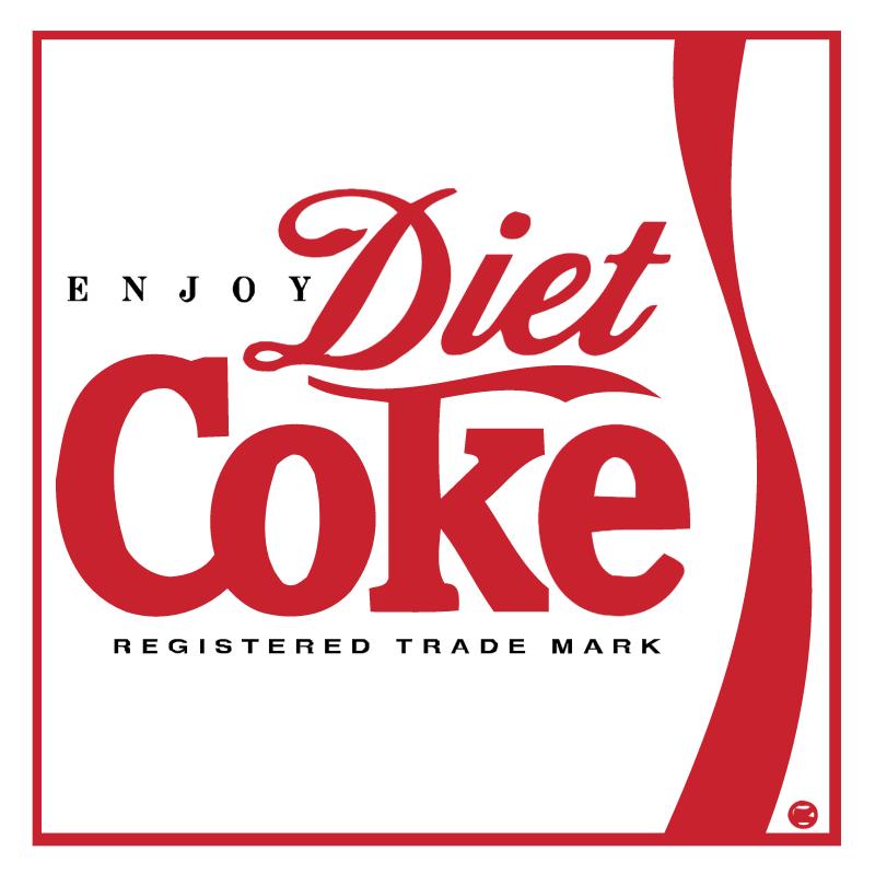 Diet Coke vector logo