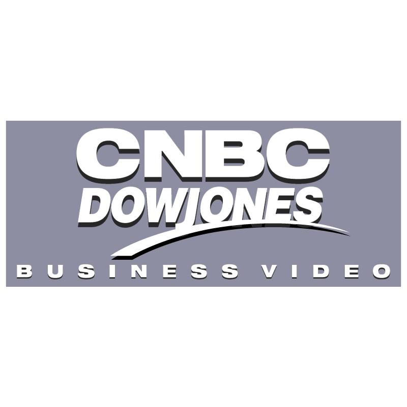 Dow Jones CNBC vector