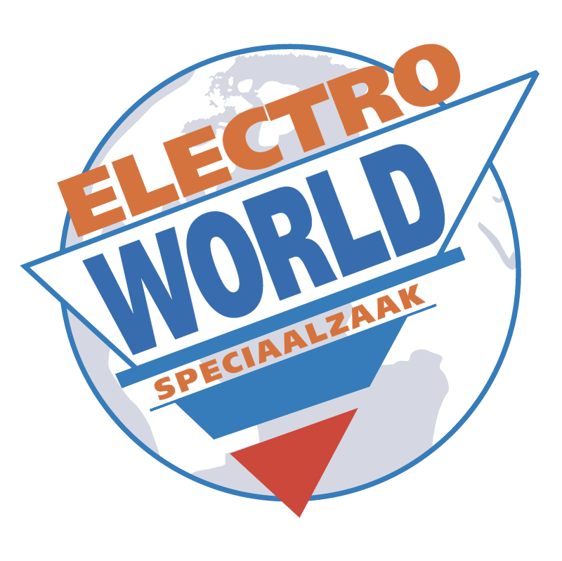 Electro World vector