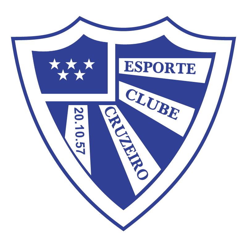 Esporte Clube Cruzeiro de Santa Clara do Sul RS vector
