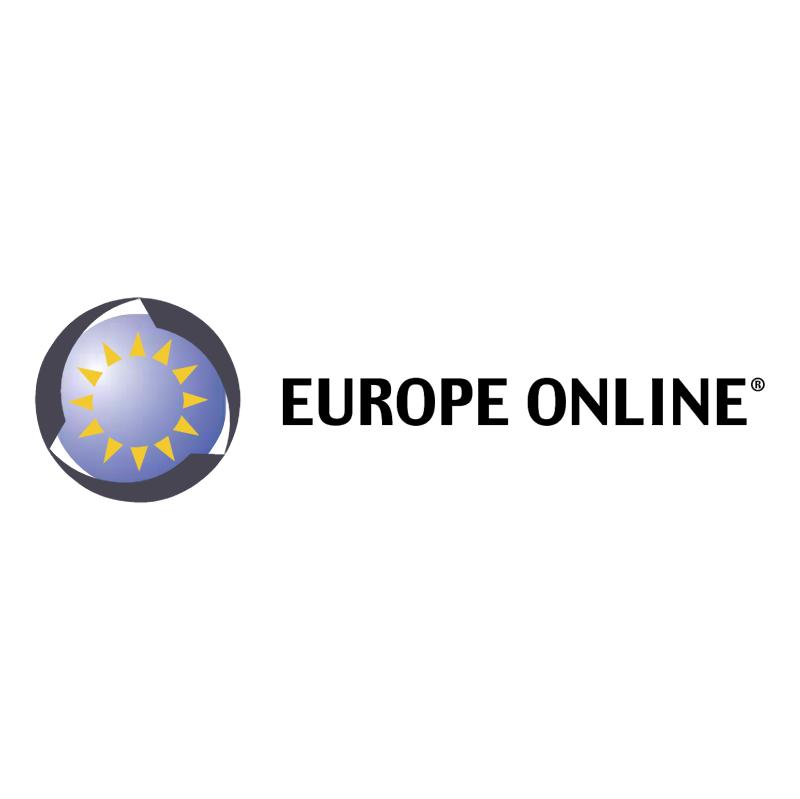Europe Online vector