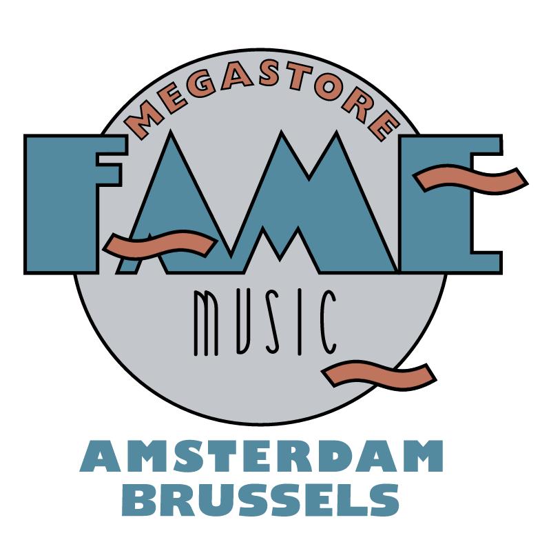 Fame Music Megastore vector
