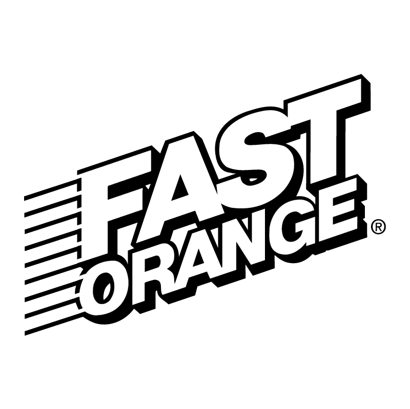 Fast Orange vector