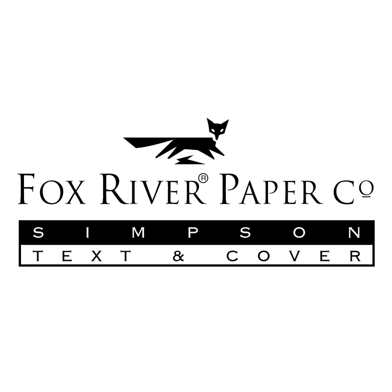 Fox River Paper vector