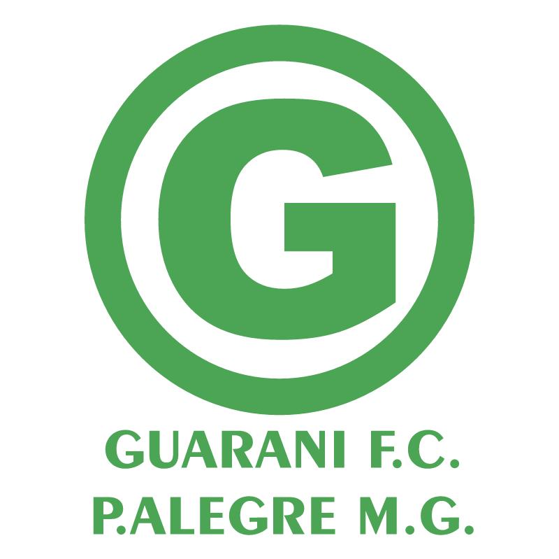 Guarani Futebol Clube de Pouso Alegre MG vector
