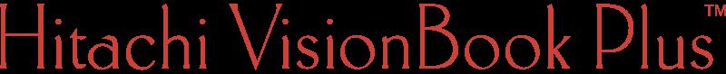 HITACHI VISIONBOOK PLUS vector