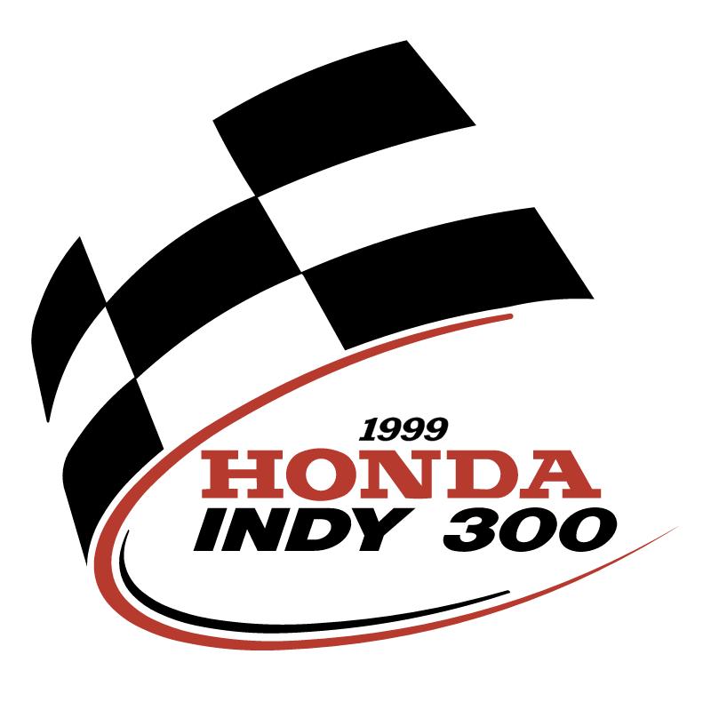 Honda Indy 300 vector