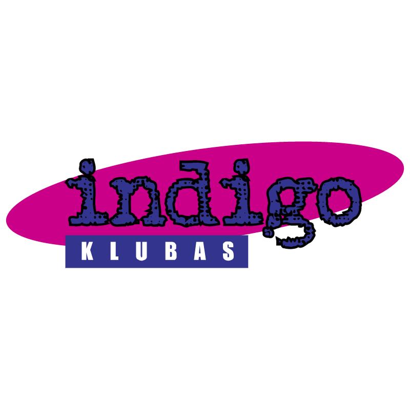 Indigo Klubas vector