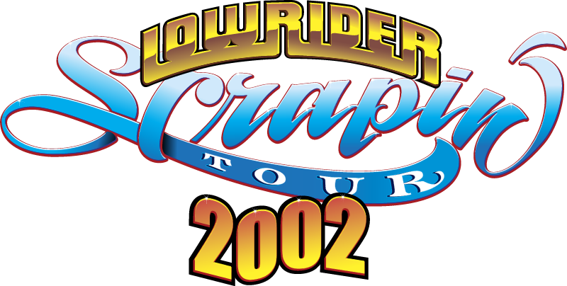 Lowrider Scrapin' Tour 2002 vector