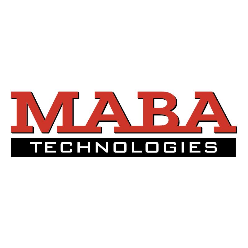 Maba Technologies vector logo