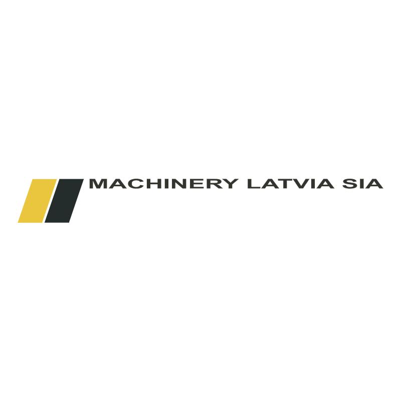 Machinery Latvia vector