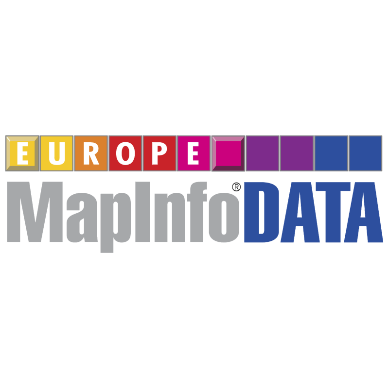 MapInfo Data Europe vector