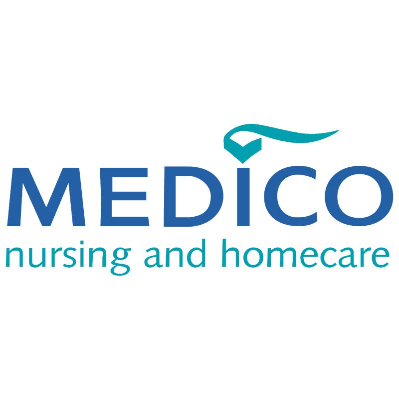 Medico Nursing and Homecare vector