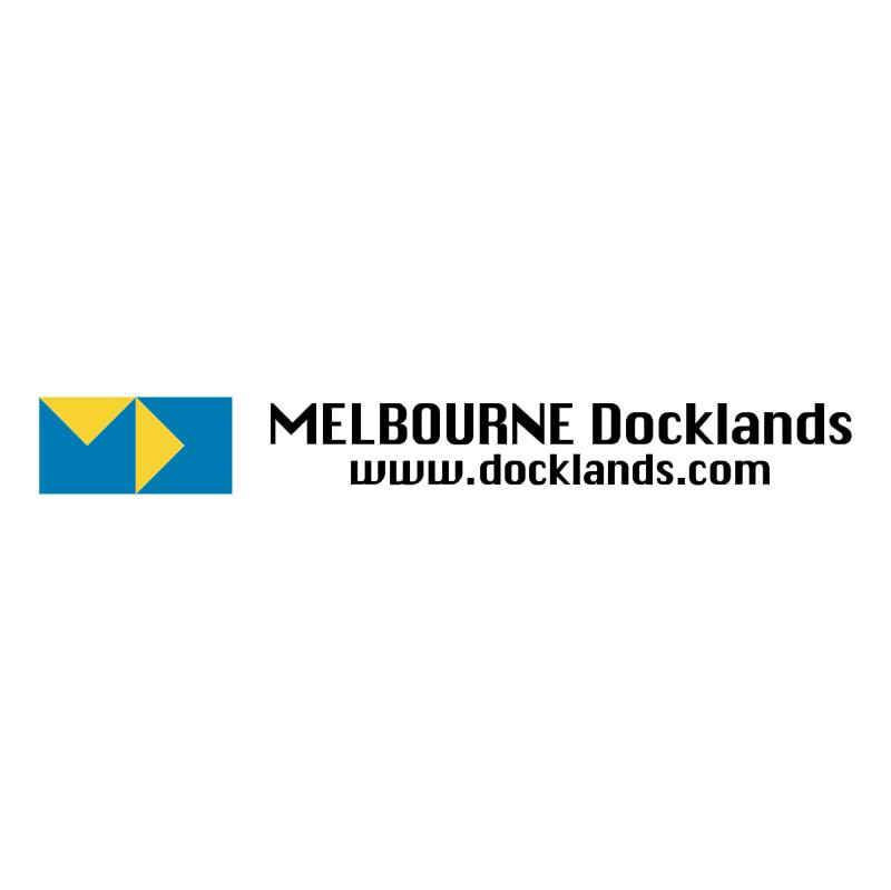 Melbourne Docklands vector