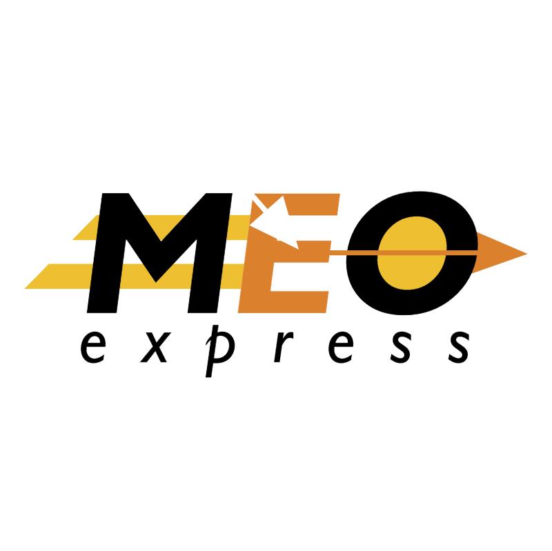MEO express vector logo