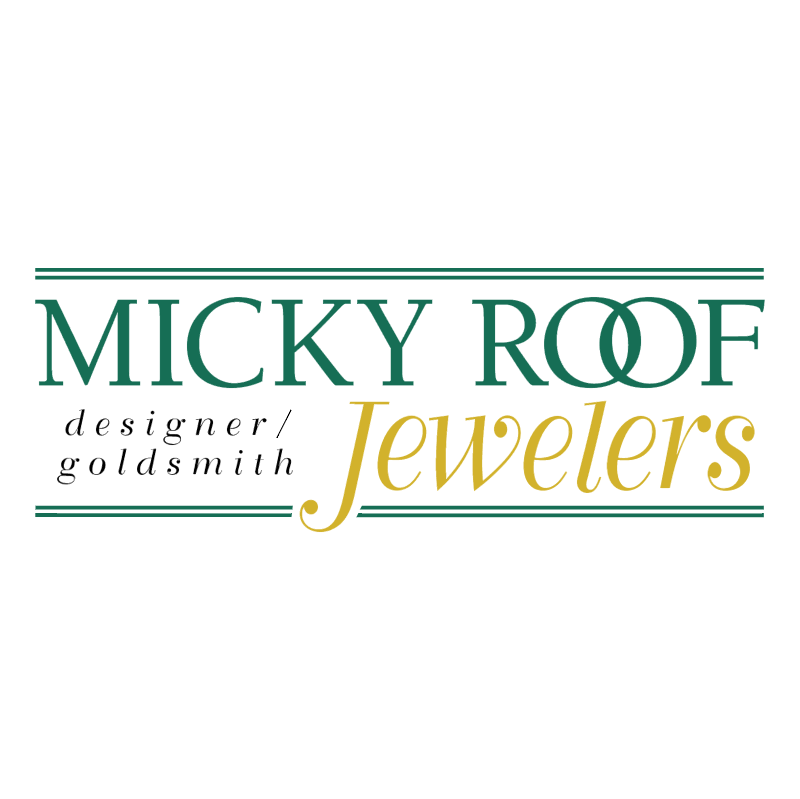 Micky Roof Jewelers vector