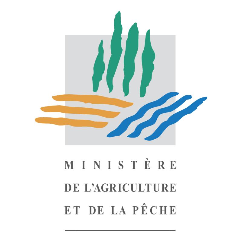 Ministere de L'Agriculture et de la Peche vector