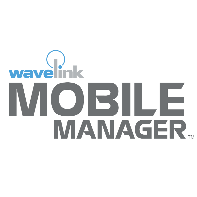 Mobile Manager vector logo