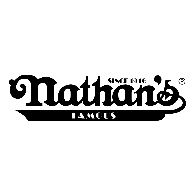 Nathan's Famous vector