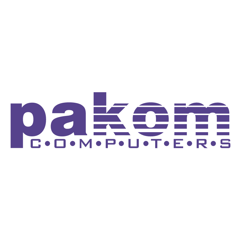 Pakom Computers vector