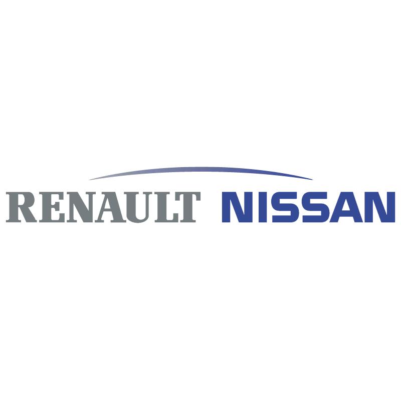 Renault Nissan vector