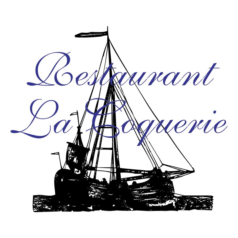 Restaurant La Coquerie vector