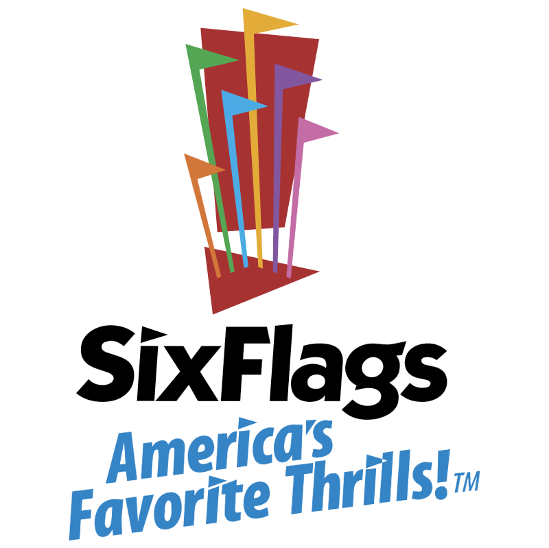 Six Flags vector