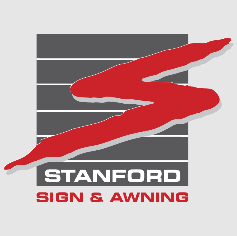 Stanford Sign & Awning vector logo