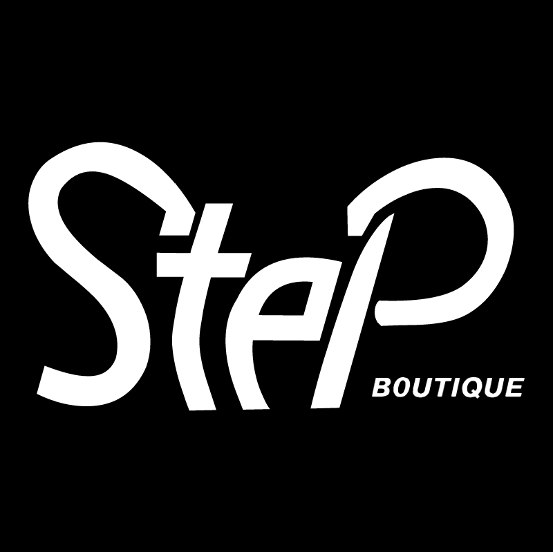 Step vector logo