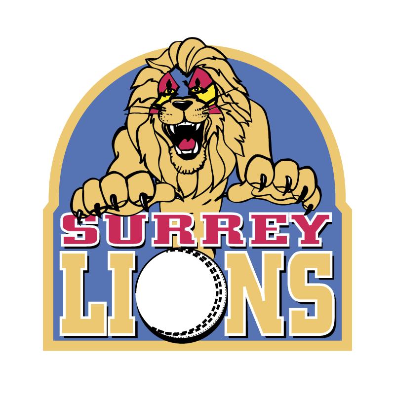Surrey Lions vector
