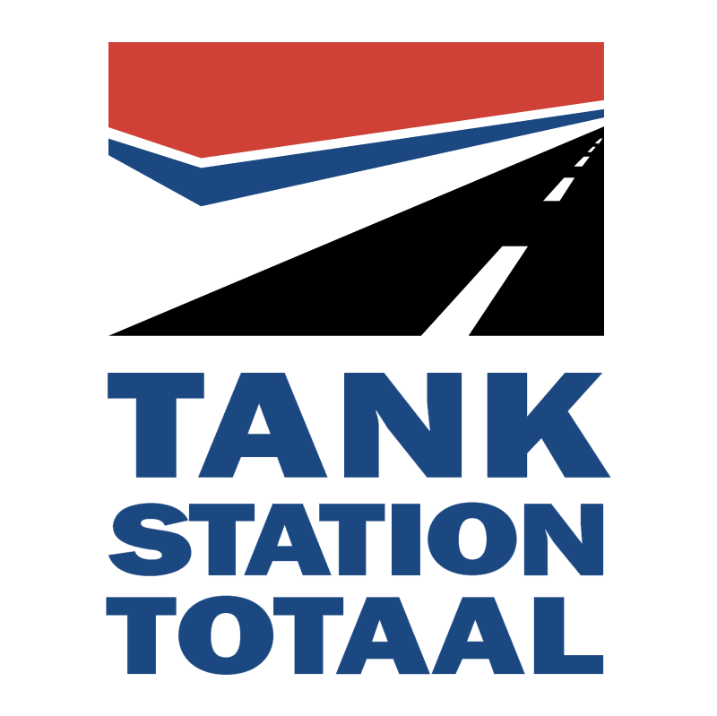 Tankstation Totaal vector