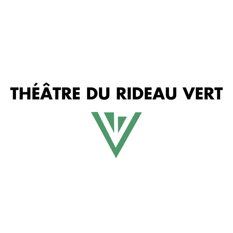Theatre du Rideau Vert vector