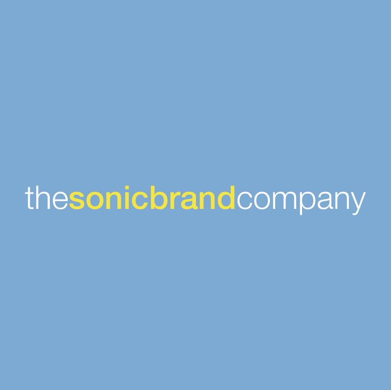 thesonicbrandcompany vector logo