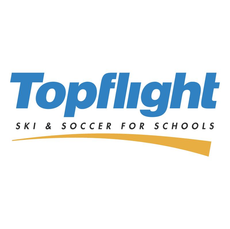 Topflight vector logo